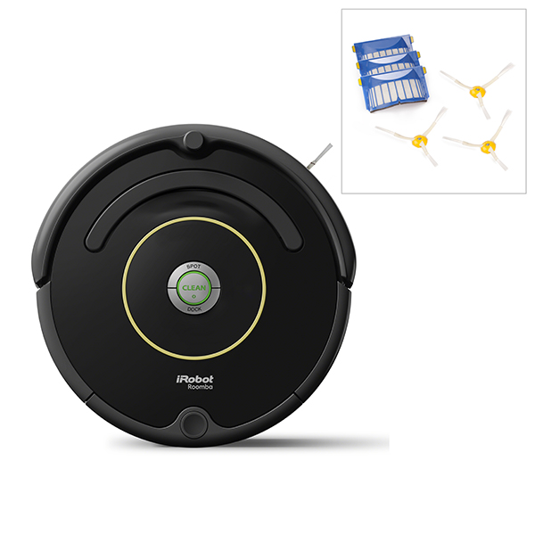 iRobot Roomba 612 Vacuum Cleaning Robot with FREE Accessory Pack No Colour