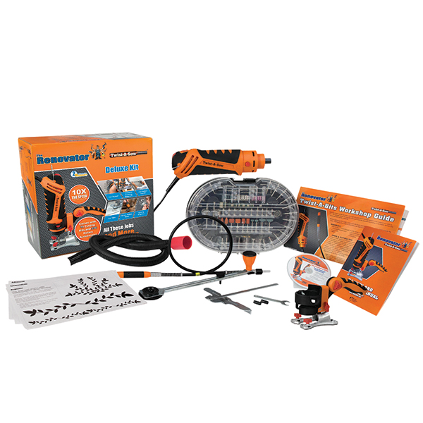 The Renovator Twist-A-Saw Deluxe Kit No Colour