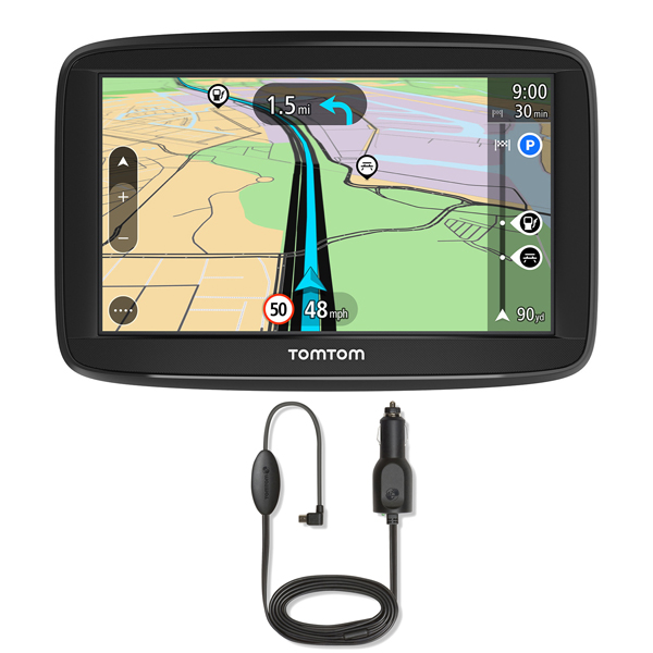 TomTom Start 52 SatNav with Whole Europe Lifetime Maps and RDSTMC Traffic Receiver 400646