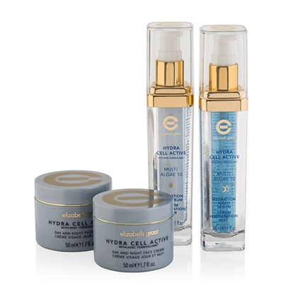 Elizabeth Grant Hydra Cell Collection 2 x 50ml Day & Night Cream, Day Serum 30ml, Night Serum 30ml