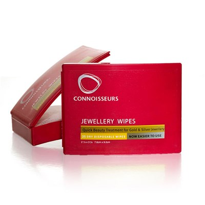 Connoisseurs UK Jewellery Wipes