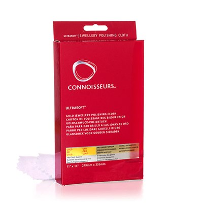 Connoisseurs Ultrasoft Gold Jewellery Polishing Cloth