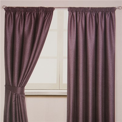 Mottle 3 inch Tape Header Interlined Curtain (90 inches x)