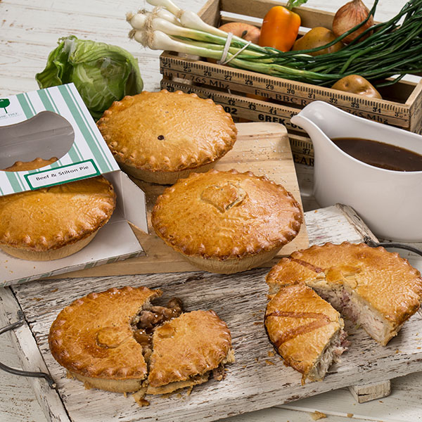Lime Tree Pantry 5 x 5 Inch Savoury Pies No Colour