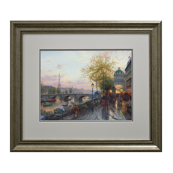 Thomas Kinkade Paris, Eiffel Tower Open Edition Print Traditional