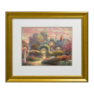 Thomas Kinkade Rosebud Cottage Open Edition Print