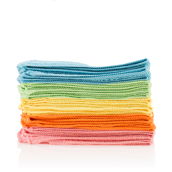 Pack of 20 Deluxe 40cm x 40cm Microfibre Cloths Bright