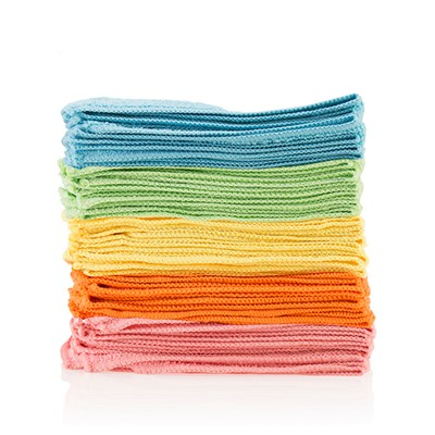 Pack of 40 Deluxe 40cm x 40cm Microfibre Cloths