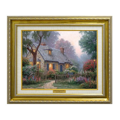 Thomas Kinkade Foxglove Cottage Open Edition Canvas