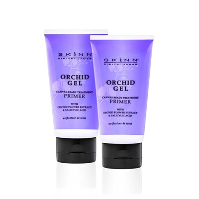 Skinn Orchid Gel Canvas Ready Primer 50ml Twinpack