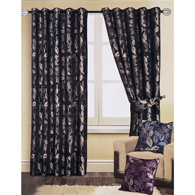 Heidi Lined Ring Top Curtains (90 inches x)