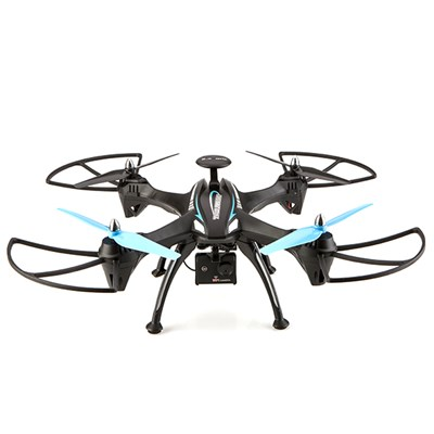 Trojan Extreme Indoor/Outdoor Drone with HD Camera and 2 Batteries