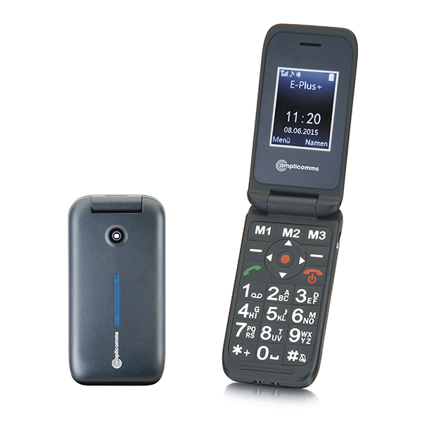 Amplicomms PowerTel M6700 Big Button Clamshell Phone No Colour