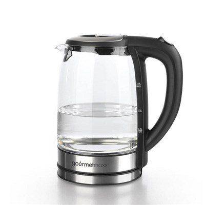 Gourmetmaxx Glass Colour Change Kettle