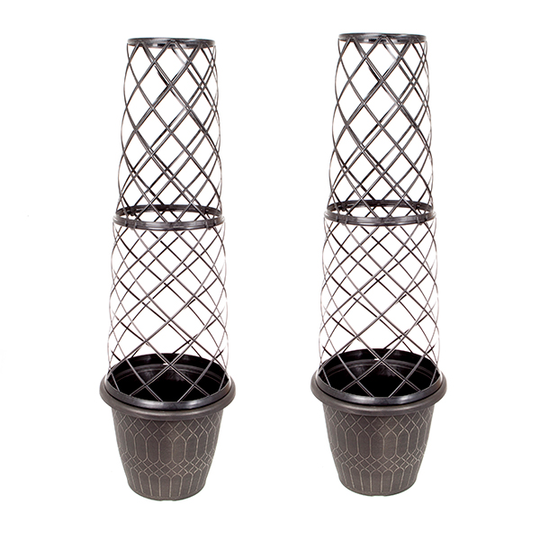 Image of 1.3m Tower Pots (Pair)