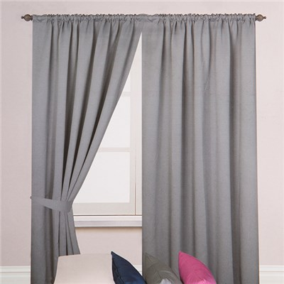 Woven (46 inches x) Blackout 3 inch Tape Curtains