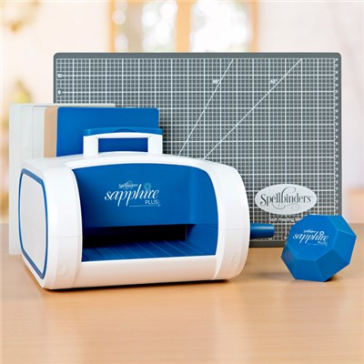 Sapphire Plus Die Cutting Machine with Main Attraction and Magnetic Handy Mat