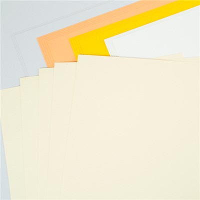 Sunshine Days 12 x 24 Coloured Paper Pack - 25 Sheets