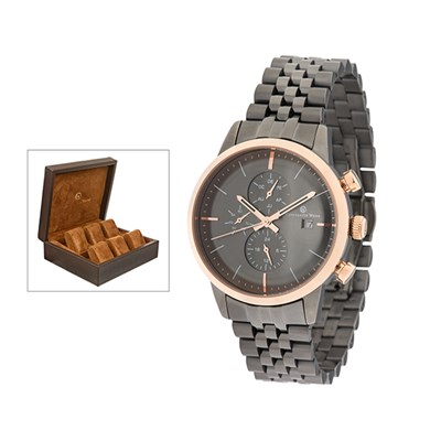 Constantin Weisz Unisex Watch with  S/Steel Bracelet and FREE 6 Slot Box