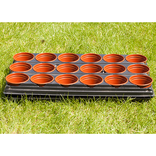 Professional Shuttle Trays 54 x 9cm Pots No Colour