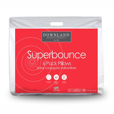 Downland Buy 4 get 2 Free Super Bounce Back Pillows