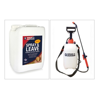 Spear and Jackson Spray and Leave 5L with 5L Sprayer