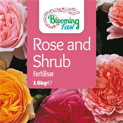 Blooming Fast Rose & Shrub Fertiliser 1.5kg