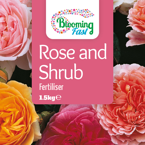 Blooming Fast Rose & Shrub Fertiliser 1.5kg No Colour