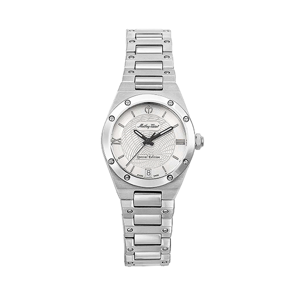 Mathey-Tissot Ladies' Elisir Limited Edition Watch with Stainless Steel Case Silver