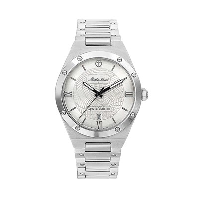 Mathey-Tissot Gent's Elisir Limited Edition Watch with Stainless Steel Case