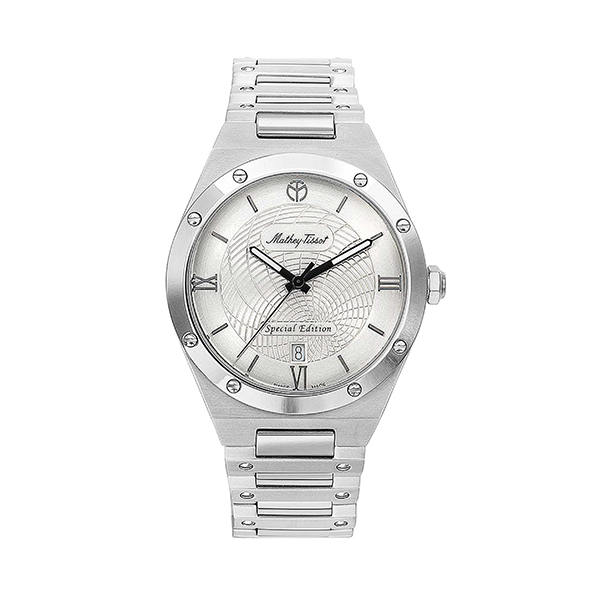 Mathey-Tissot Gent's Elisir Limited Edition Watch with Stainless Steel Case Silver