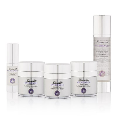 Lusardi My Miracle Caviar and Pearl 5pc Skincare Collection