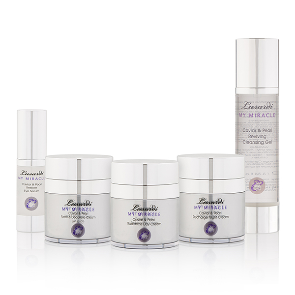 Lusardi My Miracle Caviar & Pearl 5pc Skincare Collection