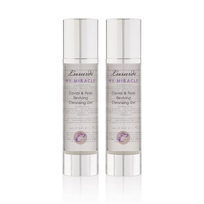 2 4 1 Lusardi My Miracle Caviar and Pearl Reviving Cleansing Gel 100ml