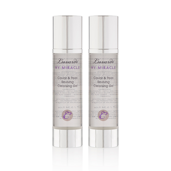2 4 1 Lusardi My Miracle Caviar and Pearl Reviving Cleansing Gel 100ml No Colour