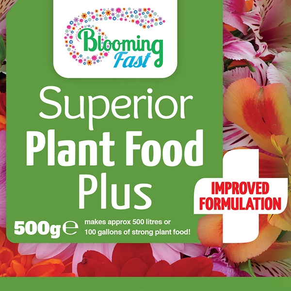 Blooming Fast Universal Soluble Fertiliser Plus 500g No Colour