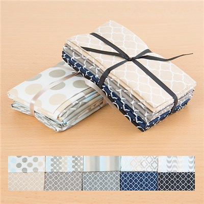 Trends Beige and Blenders Beige 100 Percent Cotton Fat Quarters