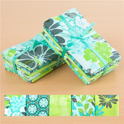 2 x Blue Lagoon 100 Percent Cotton Fat Quarters