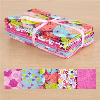 Hootenanny 100 Percent Cotton Fat Quarters
