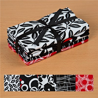 Rojo 100 Percent Cotton Fat Quarters