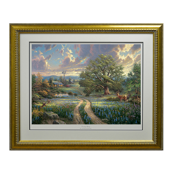 Thomas Kinkade Country Living Limited Edition Print No Colour