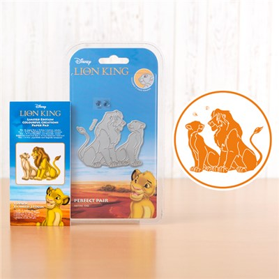 Disney The Lion King Perfect Pair Limited Edition Die with Paper Pad