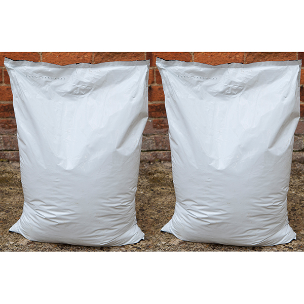Twin Pack 40L Handy Premium Professional Compost Bags No Colour