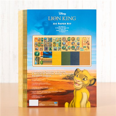 Disney The Lion King Paper Kit