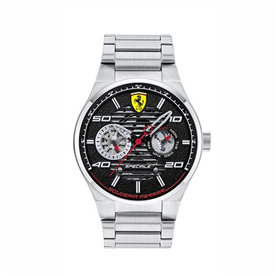 Scuderia Ferrari Gent's Speciale Watch with Stainless Steel Bracelet