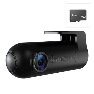RoadEyes RecOne Full HD WiFi Dash Camera with FREE 8GB SD Card