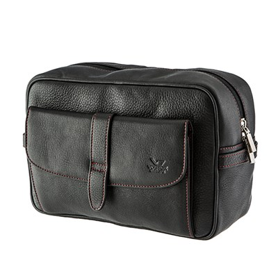 Vostok Leather Wash Bag
