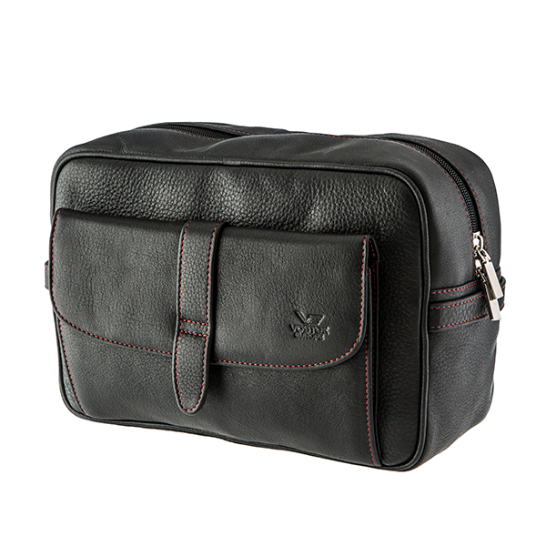 Vostok Leather Wash Bag No Colour