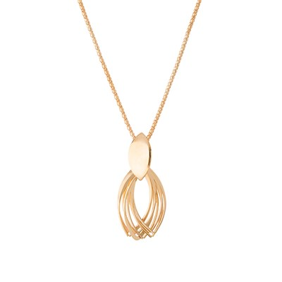 Oval Multi Loop Necklace
