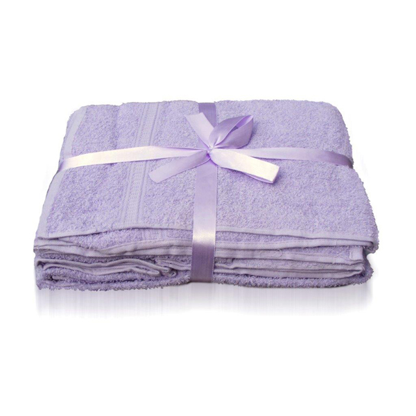 Downland Jumbo Towel Pair 450gsm Lilac
